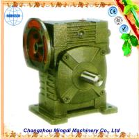 Buy cheap Cast Iron Worm Parallel Shaft Gearbox Reduction Gear For Excavator from wholesalers
