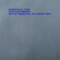 Wholesale F4208 100%polyester shape memory fabric 75DX75D  for jacket from china suppliers