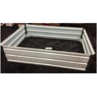 Wholesale DIY Steel Raised Garden Beds Galvanizing Steel Flower Pot Rectangle from china suppliers