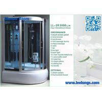 Wholesale Radio Music Enjoyable Steam Shower Room Cabins With Free Handle Telephone from china suppliers