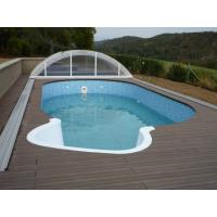 Wholesale Recyclable WPC Decking Flooring Durable Skidproof For Swimming Pool from china suppliers