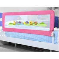 Wholesale Pink Full Size Baby Bed Rails 100cm , Folding Infant Bed Rails from china suppliers