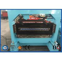 Wholesale 20kw Double Layer Cold Roll Forming Machine CE / ISO Certification from china suppliers