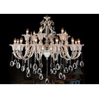Wholesale Luxurious Contemporary Glass Chandeliers18 Lights For Villa , Art Glass Chandeliers from china suppliers