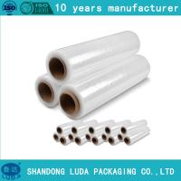 Wholesale 500M length pe stretchwrapping film clients demand pre stretch 280% from china suppliers