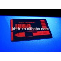 Wholesale Red p330i uv ribbon on cr80  pvc cards from china suppliers