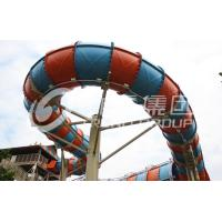Wholesale Customized Outside Water Theme Parks Galvanized Carbon Steel For Adult / New Style Water Slide from china suppliers