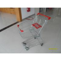 Quality Customized 80L Metal Shopping Trolley For Supermarkets 811x527x976mm for sale