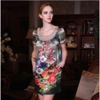 Wholesale China Silk Dress/ Silk Apparel Dress (OGT-Q8828) from china suppliers