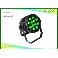 Wholesale Waterproof Ip65 Par Can Led Lights , 12 x 10w Waterproof Led Par Can Color Light For Holiday from china suppliers
