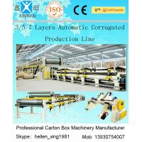 Wholesale 100 M / Min A B Flute Corrugated Box Machinery Corrugated Carton Making Machine from china suppliers