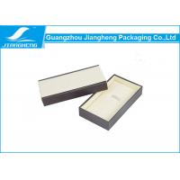 Wholesale Watch Storage Customizable Gift Boxes PU Leather + MDF Pen Packaging Box from china suppliers