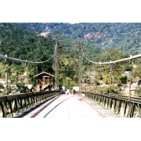Wholesale Permanent Assembly Steel Cable Suspension Bridge Simple structure from china suppliers