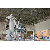 Wholesale Industrial Arm Gripper Robotic Bag Palletizer , Robot Palletizer For Bag from china suppliers