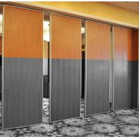 Wholesale Easy Moved and Installation Aluminum Sliding Portable Sound Proof Wooden Partition Walls from china suppliers