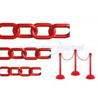 Wholesale ISO Approved Decorative Lightweight Red Plastic Safety Chain For Street from china suppliers