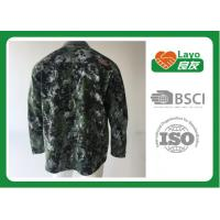 Quality Anti - Static Hunting Outdoor Clothing Thermal OEM / ODM Waterproof Hunting Coat for sale