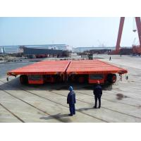 Wholesale Special Vehicle Hydraulic Platform Trailers , Heavy Duty Platform Semi Trailer from china suppliers
