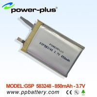 Wholesale High capacity lithium Polymer battery 583248 850mAh 3.7v from china suppliers