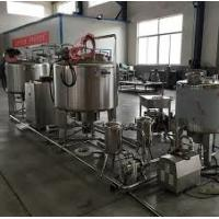 China Automatic Yogurt Production Line , Pouch Package UHT Milk Processing Equipment on sale