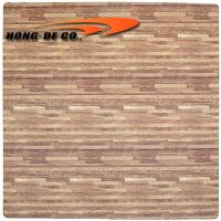 Wholesale Soft Wood Tiles - much softer, safety, easy to fix , water proof 2'*2' 10 & 12mm thickness from china suppliers