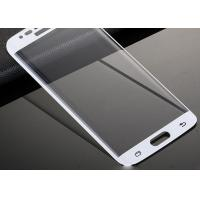 Quality Strongest Adhesive Samsung Galaxy S6 Screen Protector Scratch Proof 3D Curved for sale