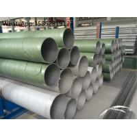 Wholesale High Temperature Stainless Steel Pipes , TP317L or DIN1.4438 Stainless Steel Pipe from china suppliers