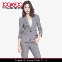 Wholesale Women latest Office Dress Notch Lapel Slim Fit Formal Suits Dresses from china suppliers