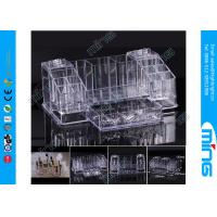 Buy cheap Multi-Function Makeup Clear Acrylic Display Stands for Cosmetic Shop Display from wholesalers