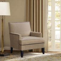 Wholesale Track Arm Teal Accent ChairLounge Room With Tight Clean Line Tailoring Offset from china suppliers