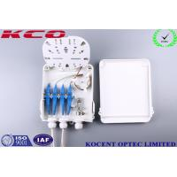 Quality Outdoor Water Proofing 8 Cores Fiber Optic Splitter Terminal Box FTTH FTTB KCO-FDB-8C for sale