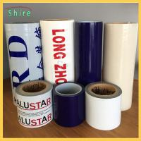 Wholesale Removable Adhesive Transparent Film , Self Adhesive Clear Plastic Film For Cars from china suppliers