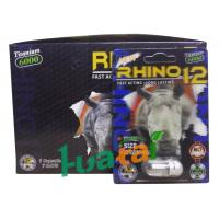 Quality Rhino 12 6000 3D Herbal Sex Pills for Male Enhancer , 100% healthy for sale