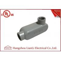 Wholesale UL Standard PVC Coated Aluminum LL Conduit Body With Screws , Gray color from china suppliers