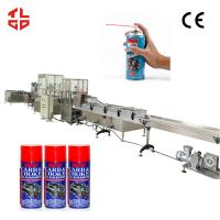 Wholesale Automatic Engine Cleaner Aerosol Spray Filling Machine with Pneumatic Drive from china suppliers