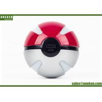 Wholesale Pokeball V2 10000mah Power Bank With Two USB Port , Pokemon Go Charger Power Bank from china suppliers