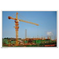 Wholesale Self Erecting Construction Tower Crane With Steel Structure 4.25 - 80 m/min Hoisting Speed from china suppliers