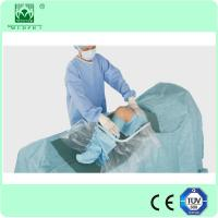 blue knee arthroscopy operation surgical drape with EO sterile