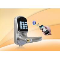 Quality Bluetooth,Password Safe Door Lock With Password Keypad, Key unlock, Low Voltage Alarm for sale