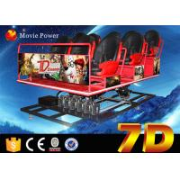 Wholesale Amusement Park 7D Cinema Equipment With Shooting Game 6 DOF Electric Platform from china suppliers