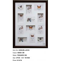 Wholesale best selling 3d photo frame PS photo frame multi aperture photo frame home decor style from china suppliers