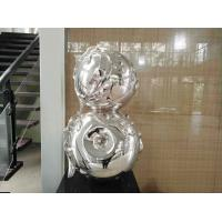 Wholesale Contemporary Art Stainless Steel Sculpture , Metal Garden Statues Sculptures from china suppliers