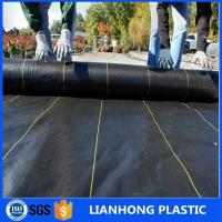 Wholesale Geosynthetic Fabric PP weedmat 130g Black Color 1m Width Weed Barrier For Anti Grass from china suppliers