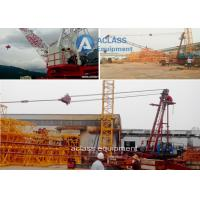 Wholesale 10 ton Construction Jib Luffing Derrick Crane , Heavy Lifting Equipment from china suppliers