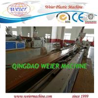 Wholesale 150kg/Hr WPC Profile Extrusion Line WPC Profile Production Line from china suppliers