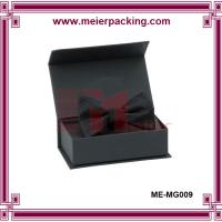 Wholesale Durable rigid cardboard wine paper box/Black art paper magnet gift box ME-MG009 from china suppliers