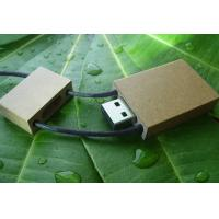 Buy cheap OEM Mini Lanyard Paper Notebook Wooden Usb Flash Drives 1G, 4G, 8G with Hi - Speed from wholesalers