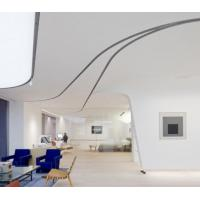 Wholesale Gray Fireproof Fiberglass Curved Ceiling Panels For Decoration 25mm 12mm from china suppliers