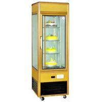 Quality Toughened Glass Refrigerated Display Unit 4 Layer Cupcake Display Case for sale