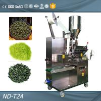 Quality Food Grade Automatic Pouch Packaging Machine For Food / Tea / Herb / Dry Powder for sale